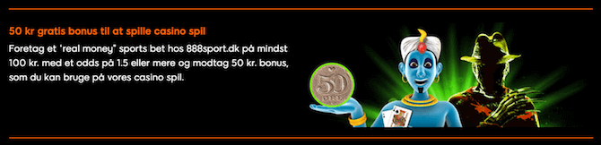 50 kroner til 888casino