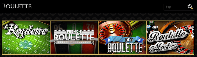 Roulette hos Royal Casino