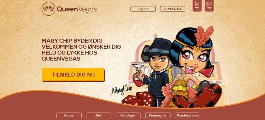 Online Casino hos Queen Vegas