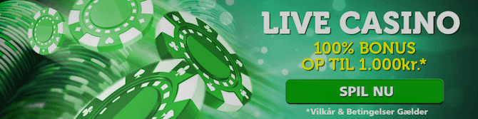 Få en CasinoLuck Live Casino
