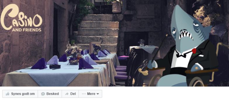 Besøg Casino And Friends på Facebook