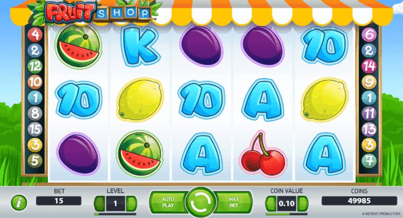 Få Cherry Casino gratis spins til Fruit Shop