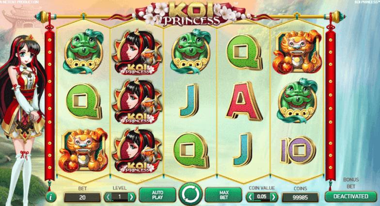 Få Cherry Casino gratis spins til Koi Princess