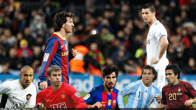Ronaldo eller Messi