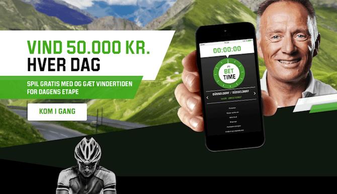 Unibet BetTime - Vind 50.000 kr.