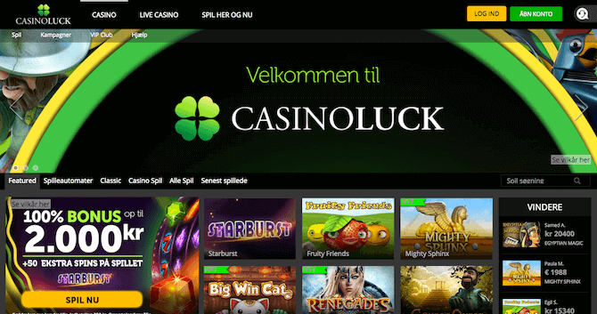 Spilleautomater CasinoLuck