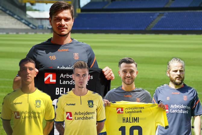 Brøndbys nye spillere