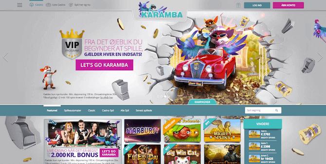 Karamba Casino Danmark