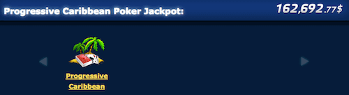 Carribean Poker Jackpot