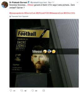 Vinder af Ballon d'Or 2017