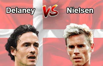 Thomas Delaney vs. Allan Nielsen