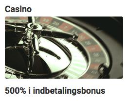 Unibet bonus 500%