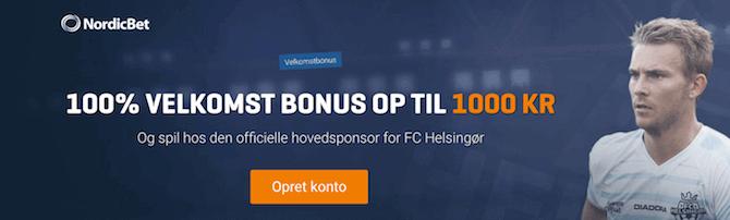 NordicBet Bonus 2018