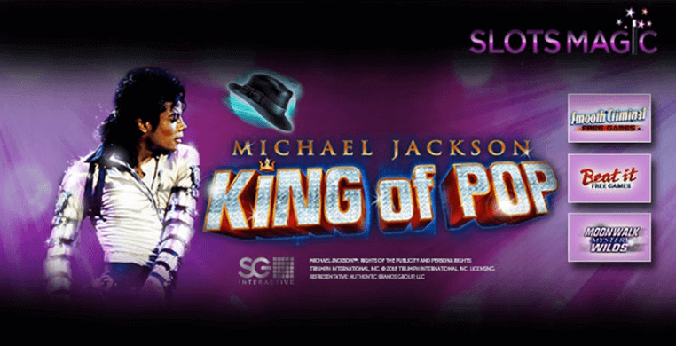 Slotsmagic King of Pop